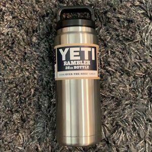Brand new yeti rambler 26 ounce bottle stainless